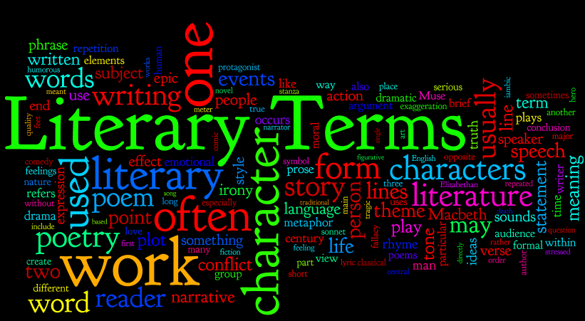 critical lens essay literary devices